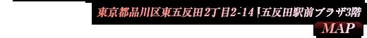 東京都品川区東五反田2丁目2-14五反田駅前プラザ3階
